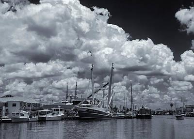 Photograph - Sponge Boats by Carolyn Dalessandro