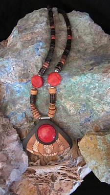 Jewelry - Sponge Coral Ff44 by Barbara Prestridge