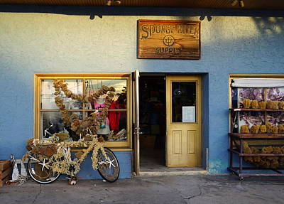 Photograph - Sponge Shop by Laurie Perry