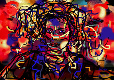 Painting - Spontaneous Expression One by Natalie Holland