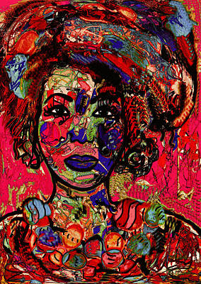 Mixed Media - Spontaneous Expression Two by Natalie Holland