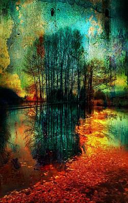 Digital Art - Spook Tree by Greg Sharpe
