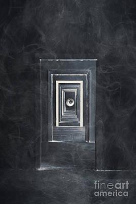 Spooky Doorways Art Print