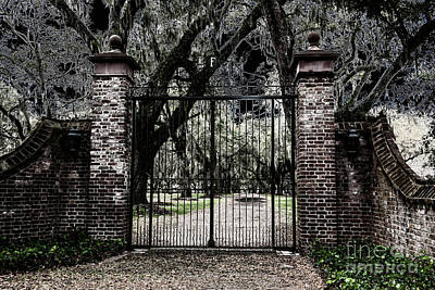 Photograph - Spooky Fenwick Castle Gate by Dale Powell