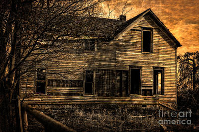Photograph - Spooky House by Imagery by Charly