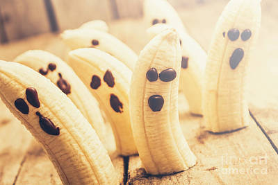 Banana Wall Art - Photograph - Spooky Seasonal Snacks by Jorgo Photography - Wall Art Gallery