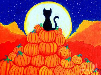 Spooky The Pumpkin King Art Print by Nick Gustafson