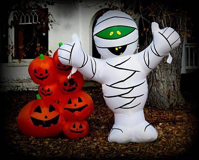 Spooky Time 1 Art Print