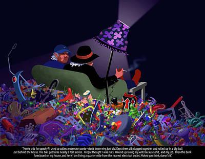 Digital Art - Spooky by Tom Dickson