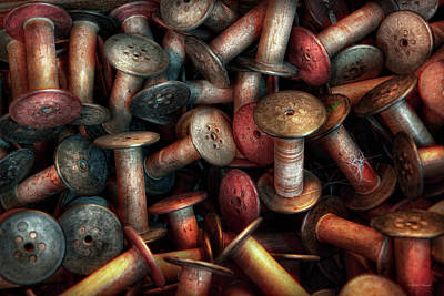 Photograph - Spools - Special by Mike Savad