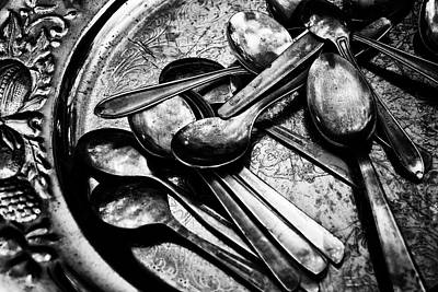Photograph - Spooning  by Karen Stahlros