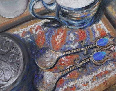 Pastel - Spoons And More by Sandra Lee Scott