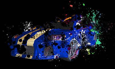 Sport Cars Art Print by Mark Ashkenazi
