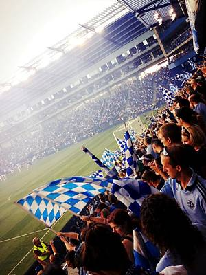 Cheer Digital Art - Sporting Kansas City by Stacia Blase