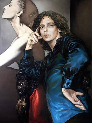Painting - S.Portrait by Valeriy Mavlo