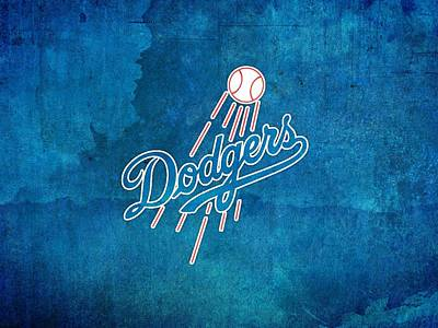 Los Angeles Dodgers Digital Art - Sports Los Angeles Dodgers                   by F S