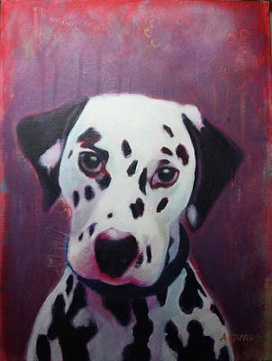 Wall Art - Painting - Spot by Alison Stafford