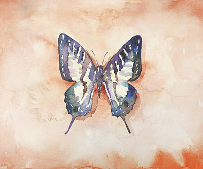 Wall Art - Painting - Spot Swordtail by Jamie Hansen