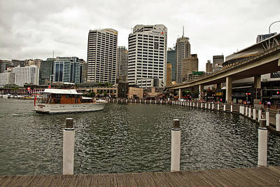 Photograph - Spot The Santas At Darling Harbour by Miroslava Jurcik