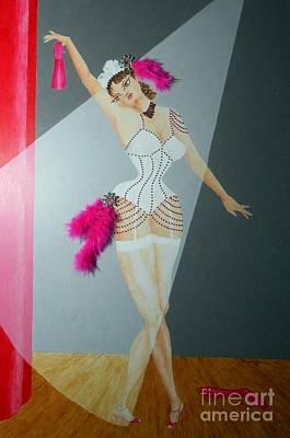 Mixed Media - Spotlight On Gypsy -- #5 In Famous Flirts Series by Jayne Somogy