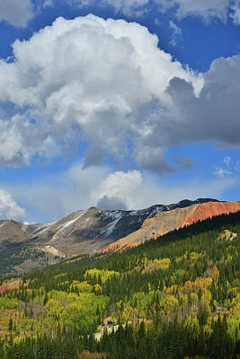 Photograph - Spotlight On Red Mountain by Ray Mathis