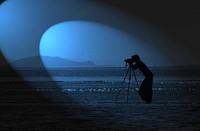 Photograph - Spotlight On The Artist by Barbara  White