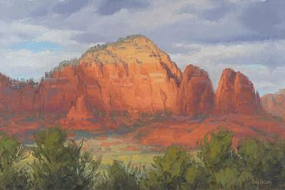 Paintings - Spotlight Sedona by Cody DeLong