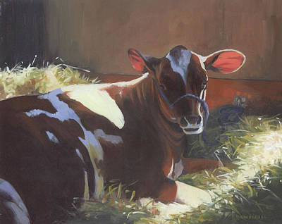 Painting - Spotted Cow by Alecia Underhill