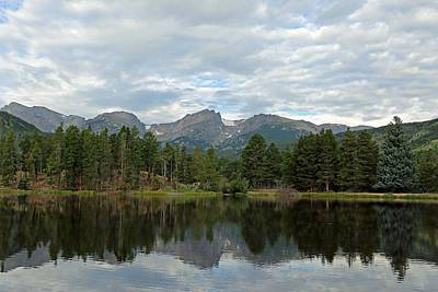 Photograph - Sprague Lake 02 by Pamela Critchlow