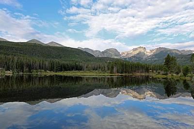 Photograph - Sprague Lake 08 by Pamela Critchlow