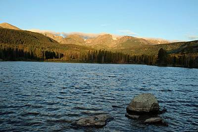 Photograph - Sprague Lake 10 by Pamela Critchlow