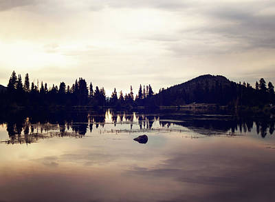 Photograph - Sprague Lake At Sunset by Sue Collura