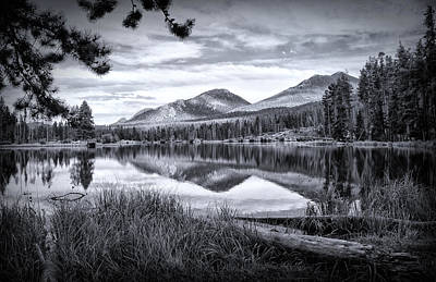 Photograph - Sprague Lake Colorado by Carolyn Derstine