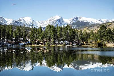 Photograph - Sprague Lake by Lynn Sprowl