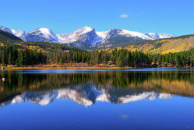 Photograph - Sprague Lake Morning Reflections by Greg Norrell