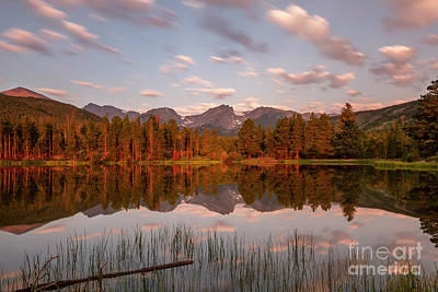 Photograph - Sprague Lake Morning  by Ronda Kimbrow