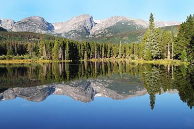 Sprague Lake Rocky Mountains Art Print by David Yunker