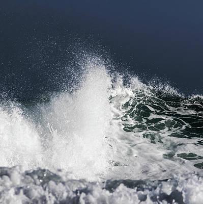 Ocean Power Photograph - Spray by Stelios Kleanthous