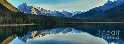 Photograph - Spray Valley Reflections by Adam Jewell
