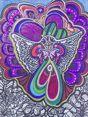 Painting - Spreading My Wings by Laurel Rosenberg