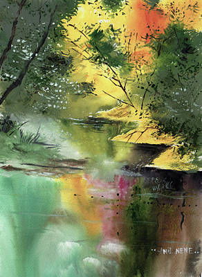 Painting - Spring 2 by Anil Nene