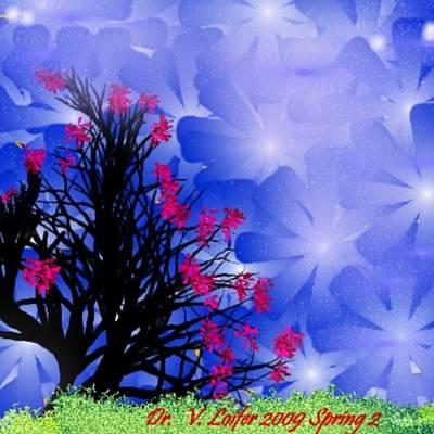 Spring 2 Art Print by Dr Loifer Vladimir