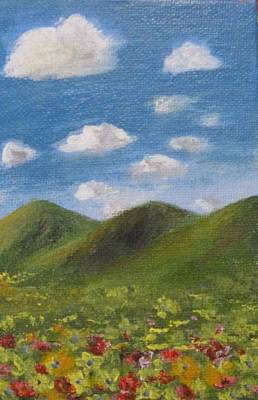 Art Print featuring the painting Spring 2009 by Trilby Cole
