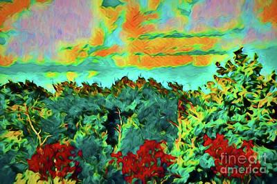 Digital Art - Spring 85185 by Ray Shrewsberry