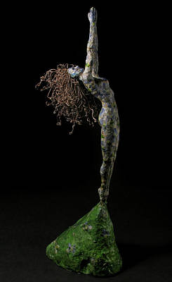 Surrealism Mixed Media Royalty Free Images - Spring a sculpture by Adam Long Royalty-Free Image by Adam Long