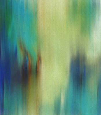 Back To Life Painting - Spring Abstract by Dan Sproul