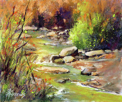Painting - Spring Accents by Rae Andrews