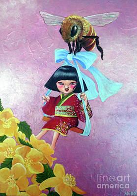 Painting - Spring by Akiko Okabe