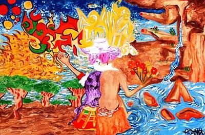 Alfredo Llana Painting - Spring by Alfredo Dane Llana