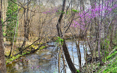 Design Turnpike Vintage Farmouse - Spring Along the River by Aaron Shortt
